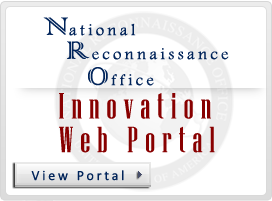 National Reconnaissance Office (NRO) Innovation Web Portal. Click to view web portal.
